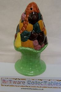 Carlton Ware 'Fruit Basket' Embossed Sugar Shaker/Sifter  - 1930s